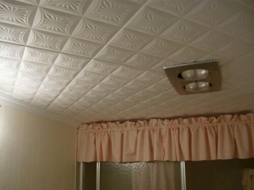 Decorative Texture Ceiling Tiles Glue UP R40W On SALE