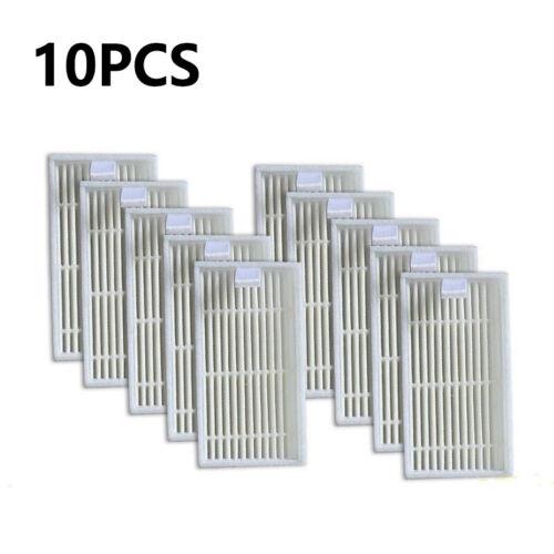 Gli elementi del filtro 10pcs per iLife V1 V5 V5s Robot Aspirapolvere Accessorio