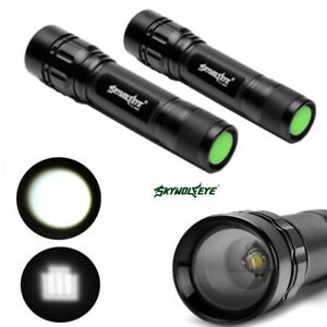 5pcs-SkyWolfEye-Zoomable-50000LM-T6-LED-18650-Flashlight-Hike-Lamp-Focus-Torch