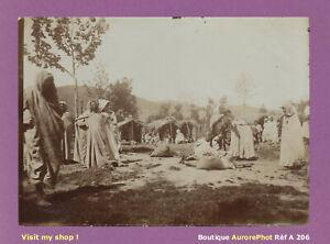 PHOTO-1890-ALGERIE-CAMPEMENT-DE-NOMADES-COMMERCES-AFRIQUE-DU-NORD-A206