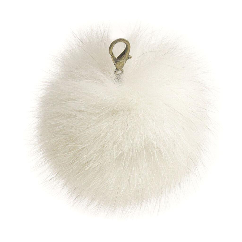 Lana's Real Fur Pom-Pom - Norwegian* Fox Fur - 3