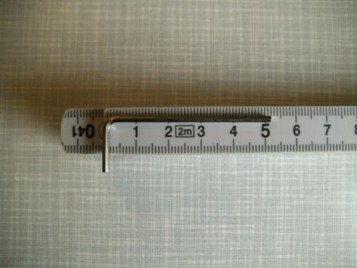 Innensechskantschlüssel Winkelschraubendreher 6kat. Imbus 2,0m