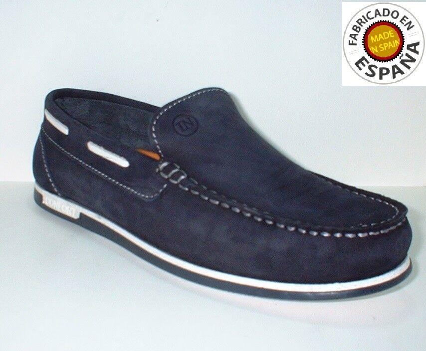 Zapato mocasín náutico piel sizes 40 a 45