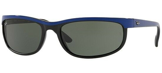 ebef6a0792 Ray Ban Predator 2 Rb2027 6301 Top Blue on Black   Green 62mm Sunglasses  for sale online
