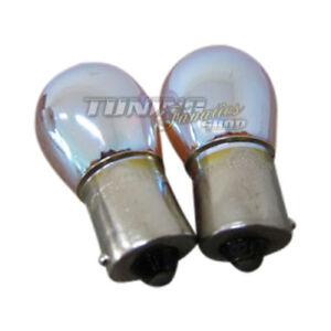 Motorradteile Blinkerbirnen Bau15s Py21w 2 Stück Chrom Blinker Birnen Set Lampen 12v 21w Bulbs