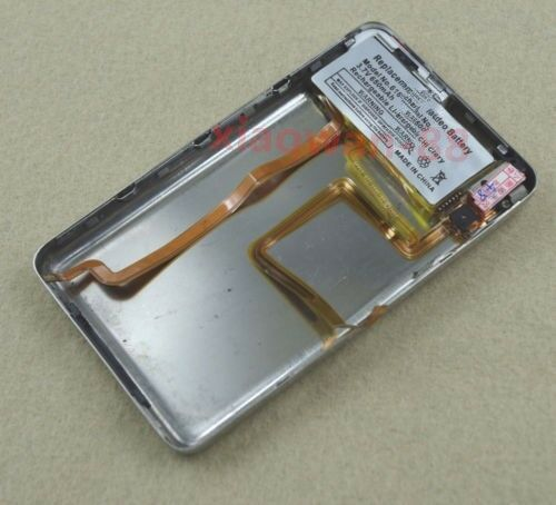 For iPod 7th Classic 160GB Back Case Housing 650mAh Battery Hold Switch Thin