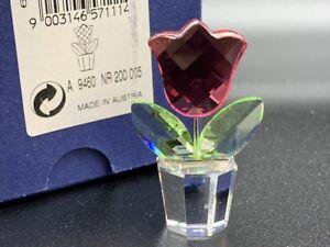 Swarovski Figur 657111 Blume Blumentopf 5 Cm Ovp