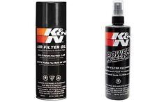 K & N Power Kleen Air Filter Cleaner and Air Filter Oil Kit MX Motocross ATV