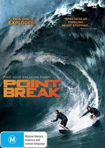 1 of 1 - Point Break (Dvd) Action, Crime, Sport Edgar Ramírez, Luke Bracey, Ray Winstone