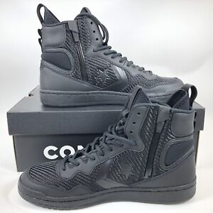 Image is loading Converse-Fastbreak-Cascade-Leather-High-Top-Sneakers-Black- 0794e9312