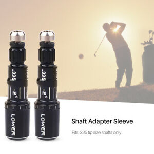 2pcs-Adapter-sleeve-0-335-for-Taylormade-2016-M1-M2-Driver-Right-Hand-RH
