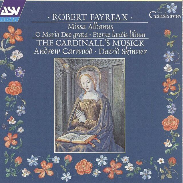 THE/CARWOOD,ANDREW CARDINALL'S MUSICK -MISSA ALBANUS CD-ROM NEU FAYRFAX,ROBERT