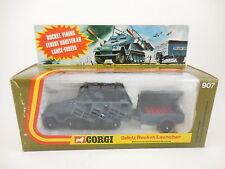 1974 Corgi 907 Sdkfz Rocket Launcher New in Original Type B Box