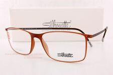 f830464253d Artikel 4 Neu Silhouette Brille Rahmen Urban Lite Fullrim 2902 6108 Braun  Unisex Größe 55 -Neu Silhouette Brille Rahmen Urban Lite Fullrim 2902 6108  Braun ...