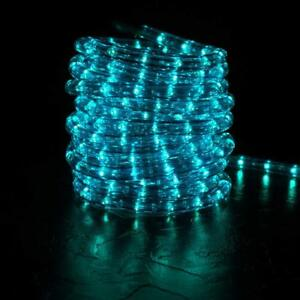 Image Is Loading Blue D Led Rope Light 20ft 2 Wire