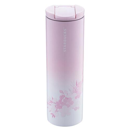 Limited Taiwan Starbucks 19 Sakura Cherry Blossom B Stainless Steel Water Bottle