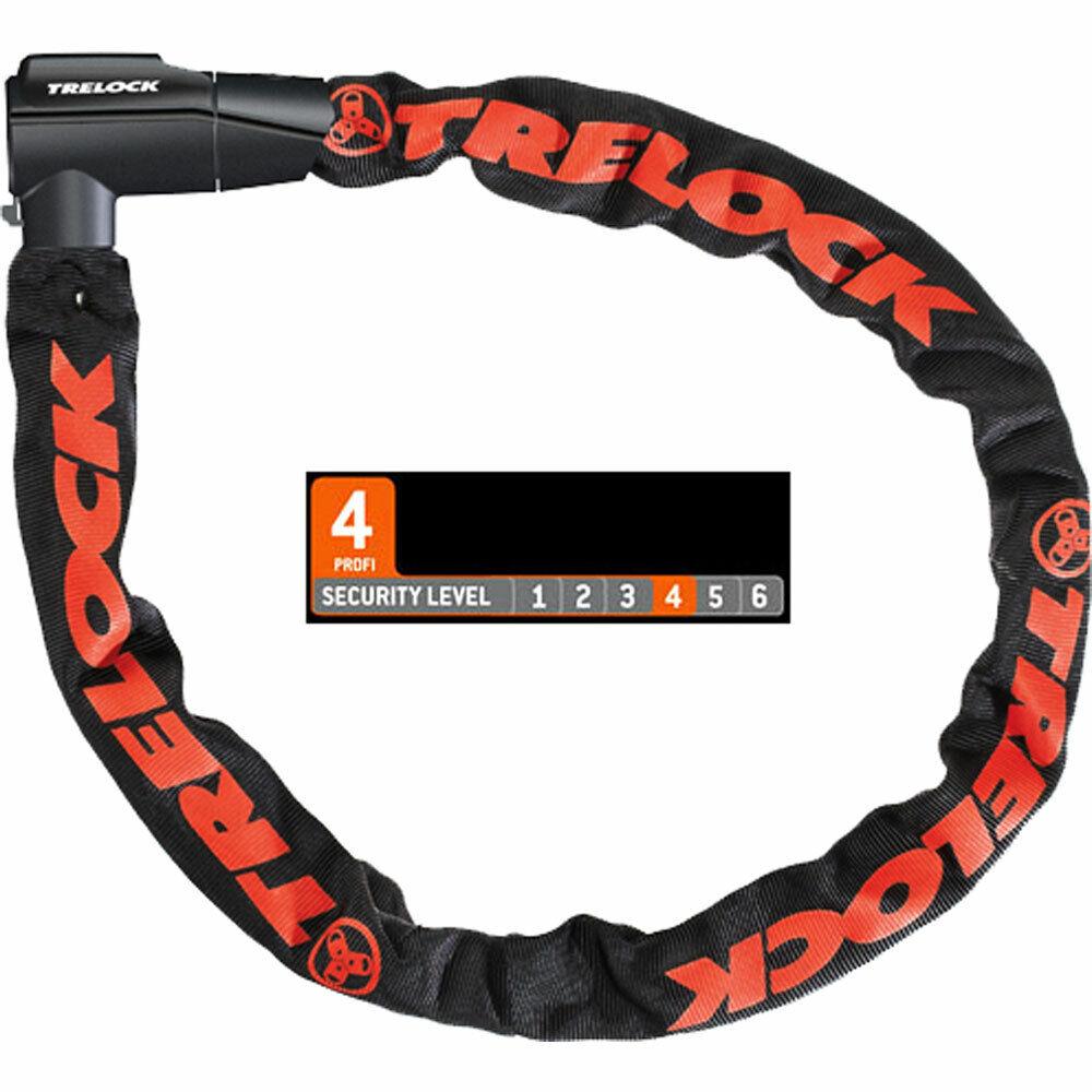 Trelock Lucchetto catena bc460 L  85cm D  7mm nero bicicletta