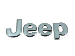 Genuine-New-Metallic-Blue-JEEP-BOOT-BADGE-Rear-Emblem-Liberty-2002-2004-CRD-4x4
