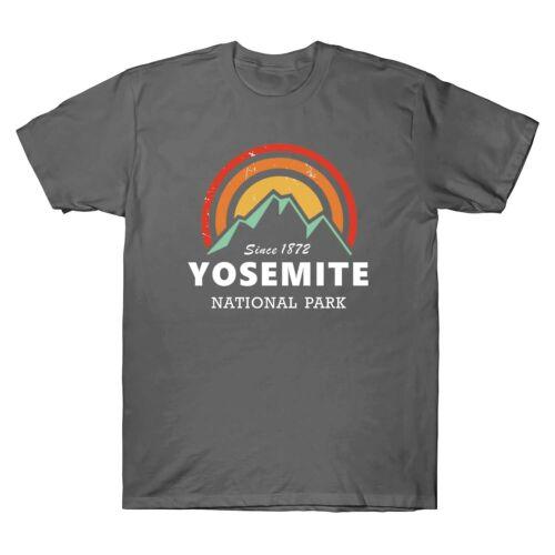 Yosemite National Park Men/'s T-Shirt Graphic Gift Short Sleeve Tee