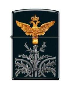 NEW-Lighter-Zippo-218-Russian-Coat-Of-Arms-Vintage-RARE