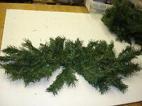Christmas 2pc 35 Pvc Pine Swags Picks Bulk Wholesale Floral Crafts Decoration