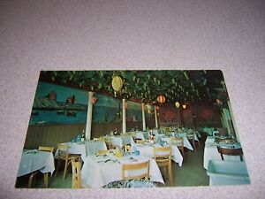 Details About 1960s Mama Gilda Restaurant Interior West Palm Beach Florida Vtg Postcard