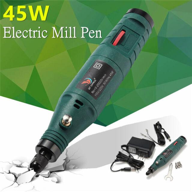 12V Mini Electric Rotary Grinder Adjustable Speed Polishing Polisher Pen Machine