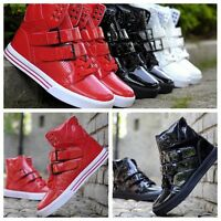 Woman Men's High-top Flats Hip-hop Ankle Boots Casual Sneakers Trendy GYM Shoes