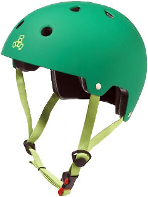 Triple  8 Dual Certified Brainsaver Rubber Helmet  at the lowest price