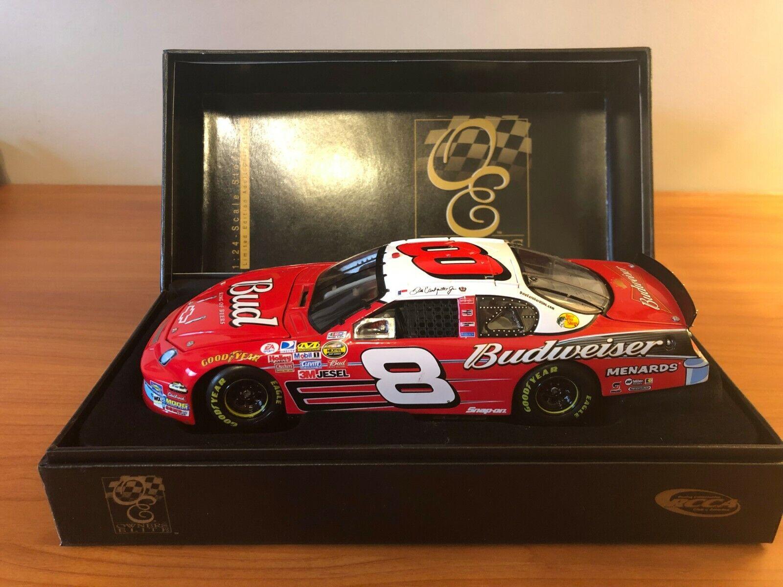 a la venta Dale Earnhardt Jr  8 8 8 Budweiser'57 Chevy 50th aniversario 2007 1 24 Diecast Coche SN 857  Centro comercial profesional integrado en línea.