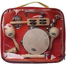 Stagg CPK01 Children's Percussion Music Kit Triangle Claves Maracas Cymbals New