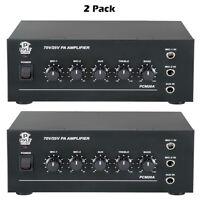 Pylehome Pcm20a 40 Watt Power Amplifier W/ 25 & 70 Volt Output ( Pair ) on sale