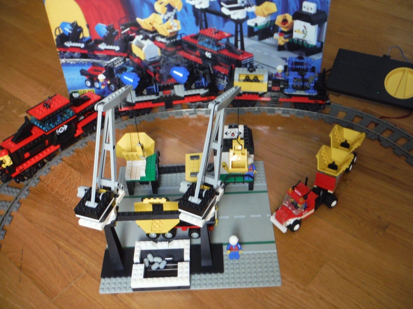 SET LEGO 4565 TRENO MERCI 9V - COMPLETO ALIMENTATORE  CAMION 4549 -RARITA' 1994
