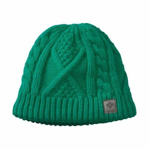 6173054d449 Columbia Women s Cabled Cutie Beanie Hat (green)