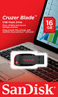 SanDisk 16G Cruzer Blade CZ50 USB 2.0 Flash Pen Drive Retail Packaging Genuine