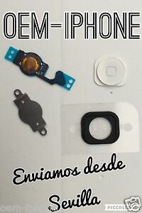 KIT-4-en-1-Boton-Home-Flex-chapa-pegatina-fijacion-iPhone-5-BLANCO-100-CALIDAD