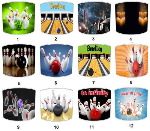 Ten-Pin Bowling Balls Lampshades, Ideal To Match Ten-pin Bowling Wall Decals.