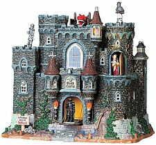 Lemax 95826 BLACK CASTLE Spooky Town Lighted Building Animated Halloween Decor I