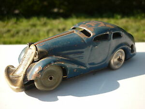 Metal Détails Miniature Jouet Sur Remontoir 1950 Voiture Schuco Jeu Ancien Vehicule edBorCxW
