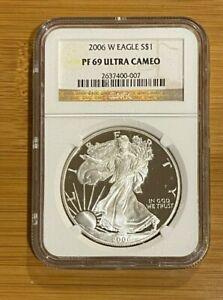 2006-W-Proof-Silver-Eagle-Dollar-1-oz-silver-Coin-NGC-PF69-Ultra-Cameo-007
