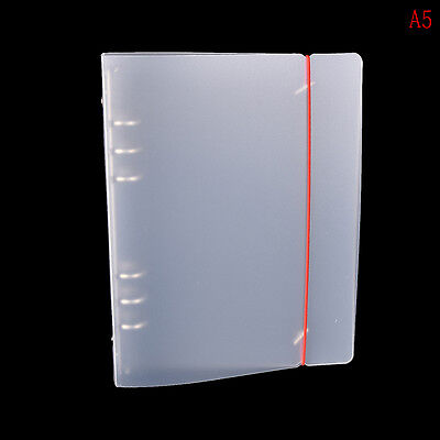 PP Cover for Notebook File Folder 6 Holes Ring Binder Spiral A5 A6 Refillable RD