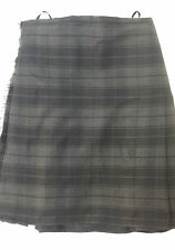 Grey Highlander 8YD  Kilt Only Ex Hire £99 A1 Condition Large Stock BUT HURRY