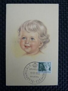 Discipliné Belgique Mk 1954 Tuberculosis Maximum Carte Carte Maximum Card Mc Cm A8820 Couleurs Fantaisie
