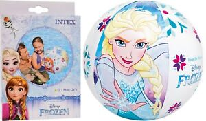 Disney Frozen Wasserball 51cm Aufblasbar Strandball Ball Wasserspielzeug Intex Kinderbadespaß Bälle