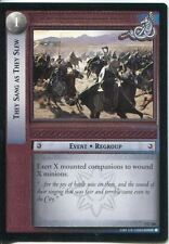 Lord Of The Rings CCG Card RotK 7.C256 They Sang As They Slew