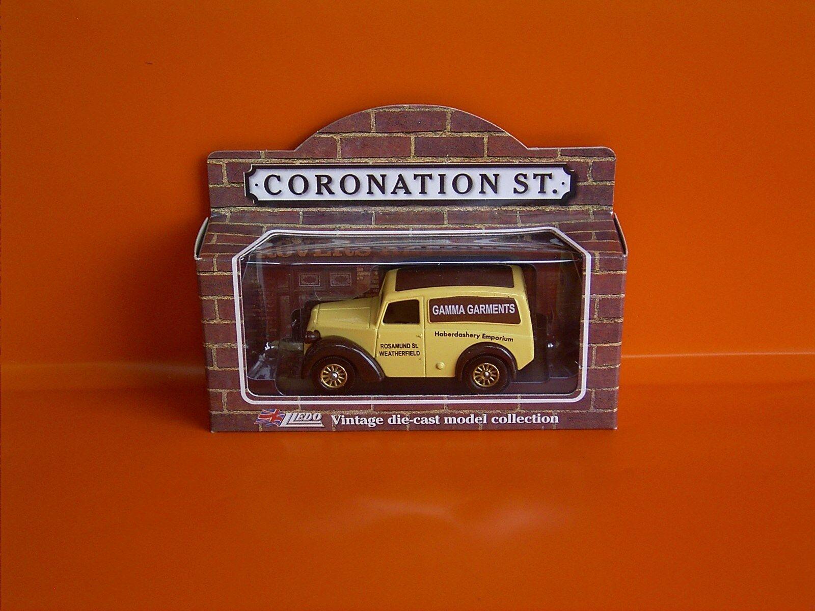Lledo Diecast Modelo-coronación Modelo-coronación Modelo-coronación Street Series-Morris Z VAN-Gamma prendas 23d2eb
