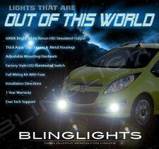 Chevrolet Spark Xenon Halogen Fog Lamps Driving Light Kit + Harness Relay Switch