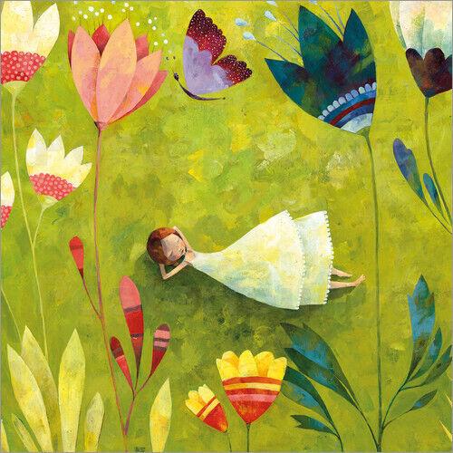 Poster Blumenwiese Aurelie Blanz