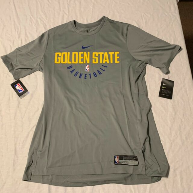 Nike Dry Golden State Warriors Practice Jersey Shirt Mens XLT Tall 877532  039 4dc41d20c