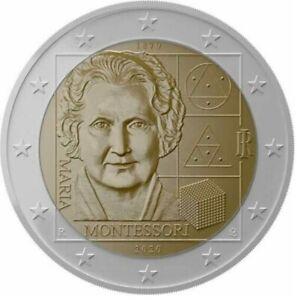 Italie-2020-Montessori-2-euro-CC-UNC
